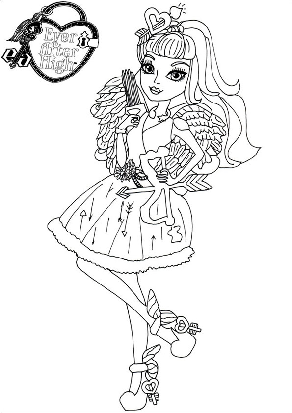 Ausmalbilder Ever After High 15