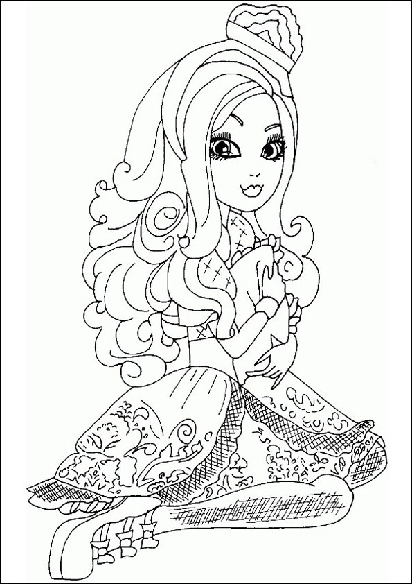 Ausmalbilder Ever After High 17