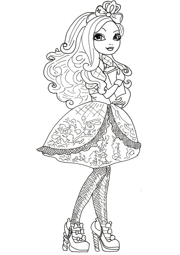 Ausmalbilder Ever After High 25