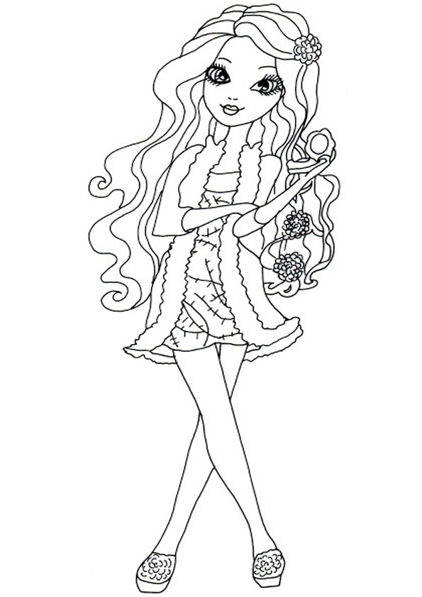 Ausmalbilder Ever After High 26