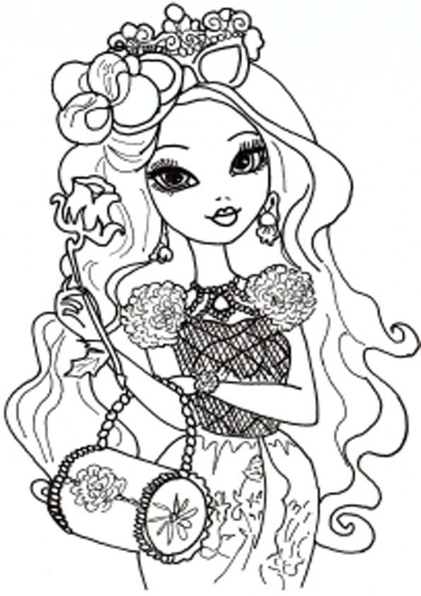 Ausmalbilder Ever After High 28