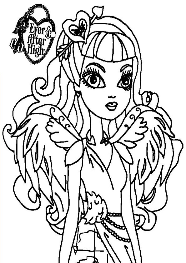 Ausmalbilder Ever After High 30