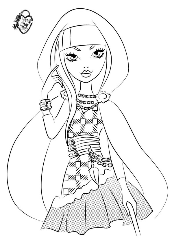 Ausmalbilder Ever After High 32