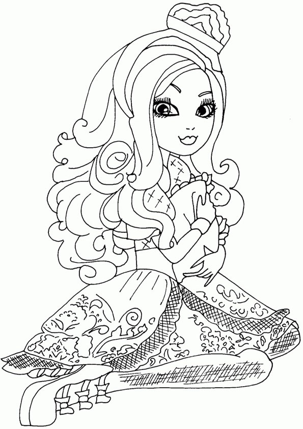 Ausmalbilder Ever After High 33