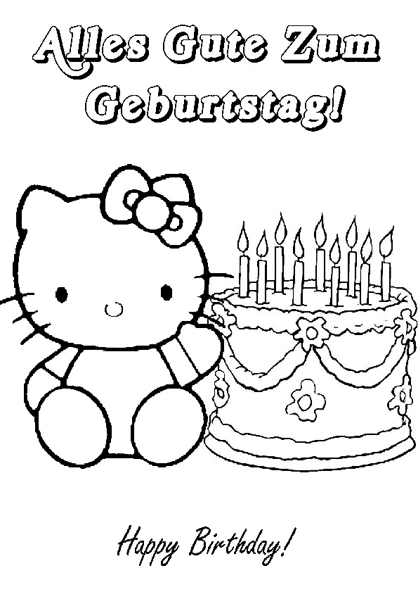 Malvorlagen Hello Kitty Geburtstag My Blog
