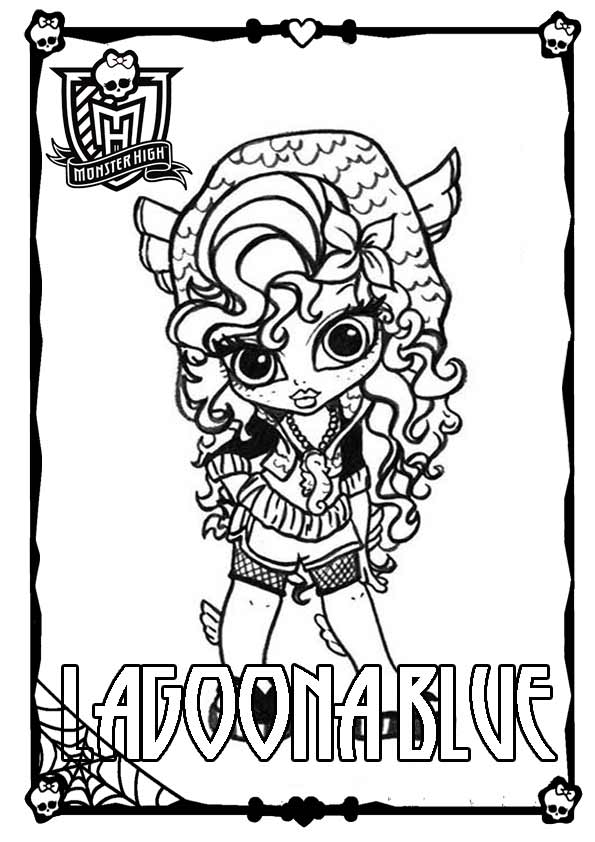 Ausmalbilder Monster High 31