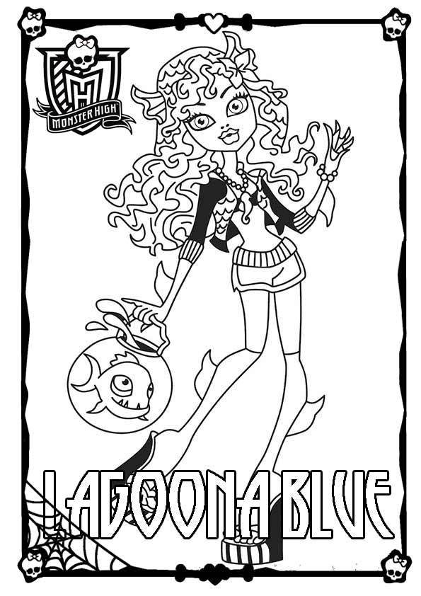 Ausmalbilder Monster High 33